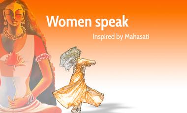 Visueel van project Women Speak, inspired by Mahasati