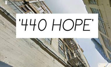 Visueel van project 440 HOPE