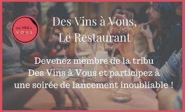 Visueel van project Des Vins à Vous - Le Restaurant