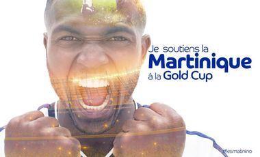 Visueel van project JE SOUTIENS LA MARTINIQUE A LA GOLD CUP 2019