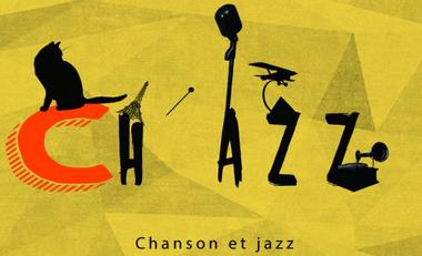 Visueel van project CH'AZZ                             Chanson et Jazz