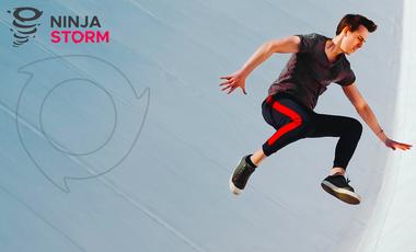 Project visual NINJASTORM Votre parcours d'obstacles indoor !