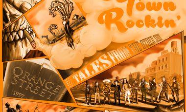 Visueel van project ORANGE STREET - GHOST TOWN ROCKIN' - nouvel album