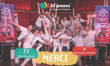 Project visual La Chtite Maison Solidaire présente Lil'Pouss'