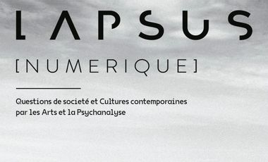 Visueel van project Lapsus Numerique - La revue