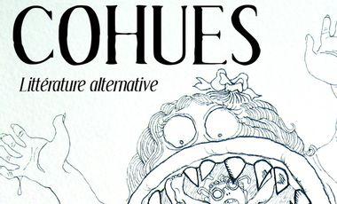 Visueel van project Cohues - Littérature alternative - version papier