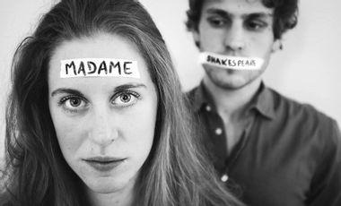 Visueel van project Madame Shakespeare - Festival Avignon OFF 2019