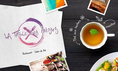 Project visual La Table des Artistes // Restaurant - Salon de thé