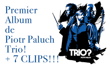 Visuel du projet Le premier Album de Piotr Paluch Trio et 7 Clips live!