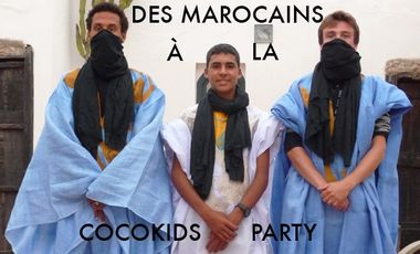 Visuel du projet Des marocains à la Cocokids Party