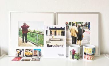 Visueel van project Pendant ce temps-là à Barcelone, une série d'objets photo prêts-à-dépayser !