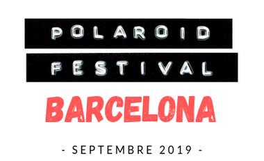 Visueel van project POLAROID FESTIVAL BCN 2019