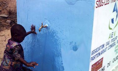 Visueel van project Water for Development in Benin