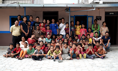Visueel van project Sari ESSEC - A new roof for the children of New Nepal Society Center