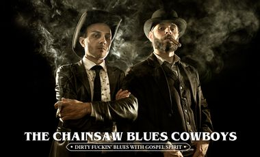 Project visual The Chainsaw Blues Cowboys - new album release