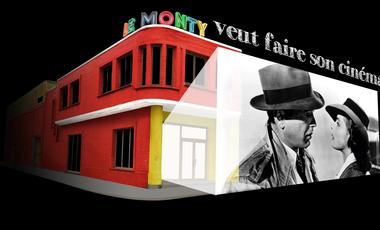 Visueel van project Le Monty ouvre son nouveau cinéma