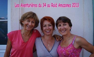 Project visual Les Aventurières du 34 au Raid Amazones 2013