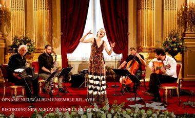 Visueel van project Opname nieuw album ensemble Bel Ayre