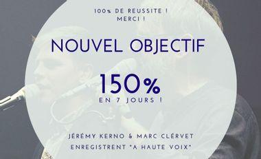 Project visual Nouveau CD : Jérémy Kerno & Marc Clérivet - A haute voix
