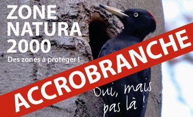 Visueel van project Une zone Natura 2000 sacrifiée