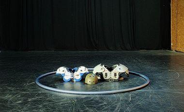 Project visual Création du spectacle Prémices par la compagnie Nawar