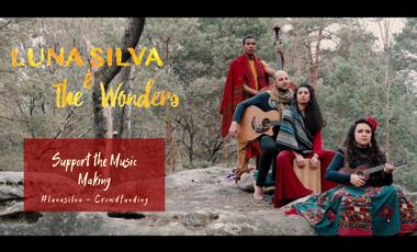 Project visual 🌠 Luna Silva & The Wonders- Debut Album 🌠