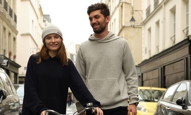 Visueel van project Enfin un hoodie cool et durable, par Les Vilains Parisiens