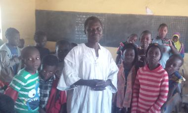 Visueel van project Burkinabéduc': Give a chance to the youth of Burkina Faso to change the world