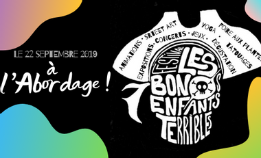 Project visual Festival Des Bons Enfants Terribles