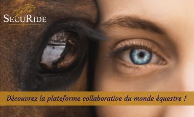 Visueel van project SecuRide: soutenez la plateforme collaborative du monde équestre!
