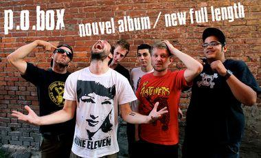 Project visual P.O.Box - Enregistrement d'un nouvel album / Recording a new full length