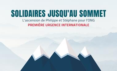 Project visual Solidaires jusqu'au sommet avec Première Urgence Internationale