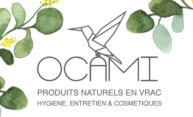 Visueel van project OCAMI - Boutique de produits Naturels et en vrac.