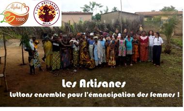 Visueel van project Les Artisanes : luttons pour l'émancipation des femmes
