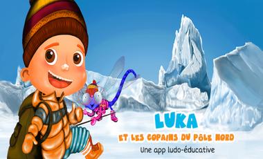 Visuel du projet Luka et les copains du pôle Nord - Un jeu éducatif