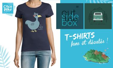 Project visual T-shirts et affiches inspirés de voyages !