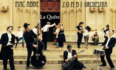 Visuel du projet 2e Album Mac Abbe et le Zombi Orchestra