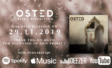 Visueel van project OSTED - Debut album pre-order and support