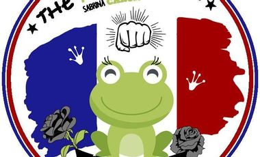Project visual La french Frog part au Games!