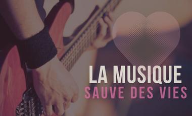 Visueel van project Heartbeat : la musique sauve des vies !