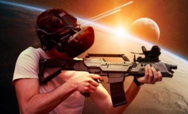 Visueel van project La Matrice salle d'arcade VR