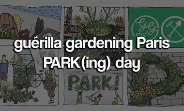 Visuel du projet Guérilla Gardening Paris : PARK(ing) day