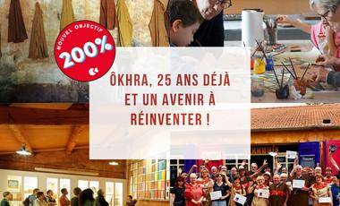 Visuel du projet ôkhra, 25 ans déjà et un avenir à réinventer