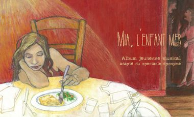 """Visueel van project """"Mia, l'enfant mer"""" - Livre/Disque Jeunesse"""