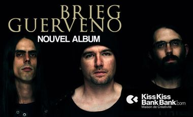 Project visual Nouvel Album Brieg Guerveno