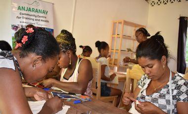 Visueel van project Soutenez la formation des couturières au Centre Communautaire Anjaranay