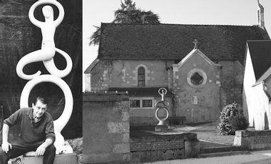 Visuel du projet Bronze d'une Sculpture de l'artiste Sancerrois Hervé Mhun