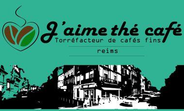 Project visual J'aime Thé Café - Torréfaction de cafés fins à REIMS