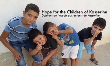 Project visual Hope for the Children of Kasserine Tunisia