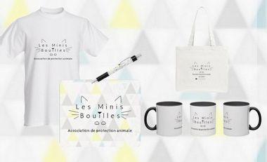 Project visual Aide pour l'association Les Minis Bouilles